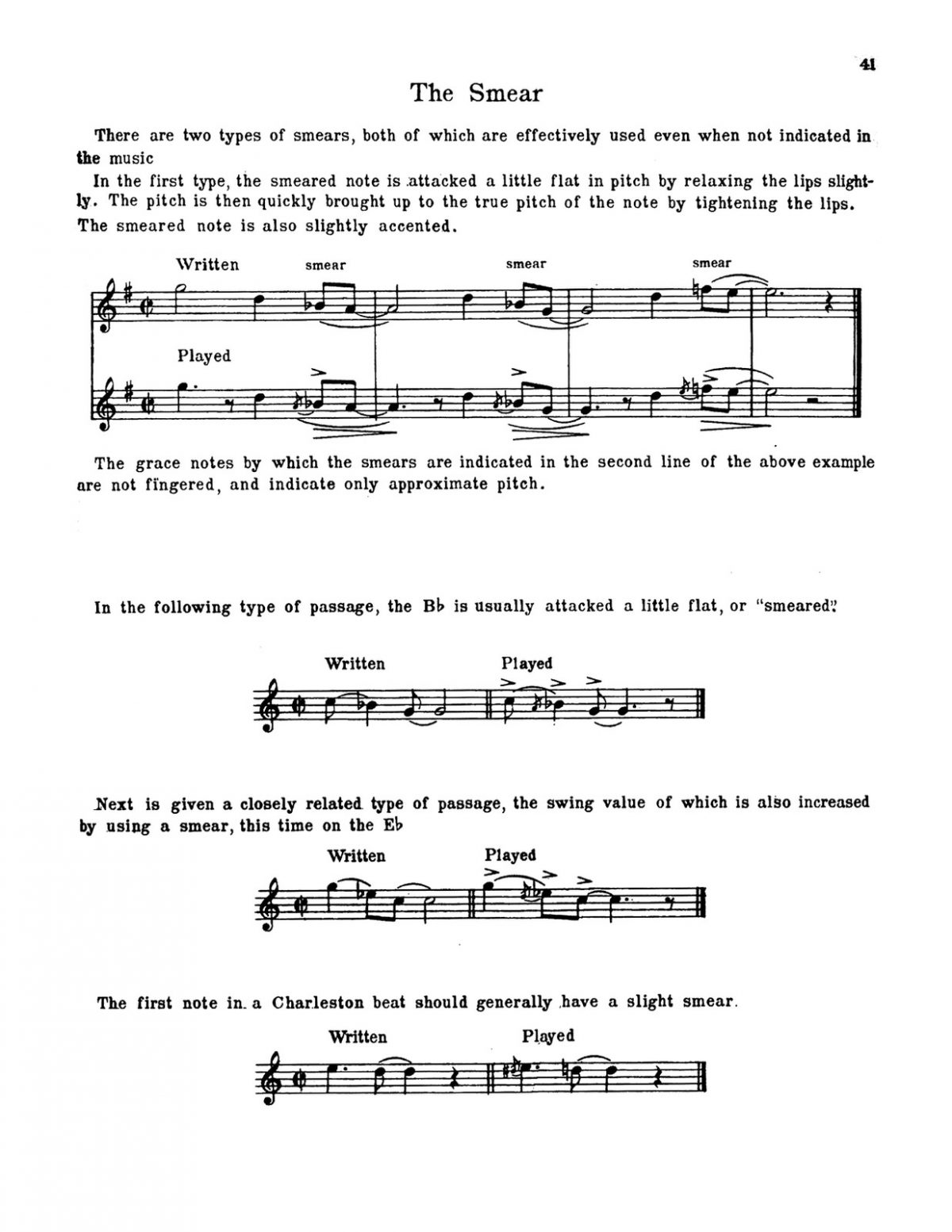Arnold, Swing Style for the Trumpet-p43