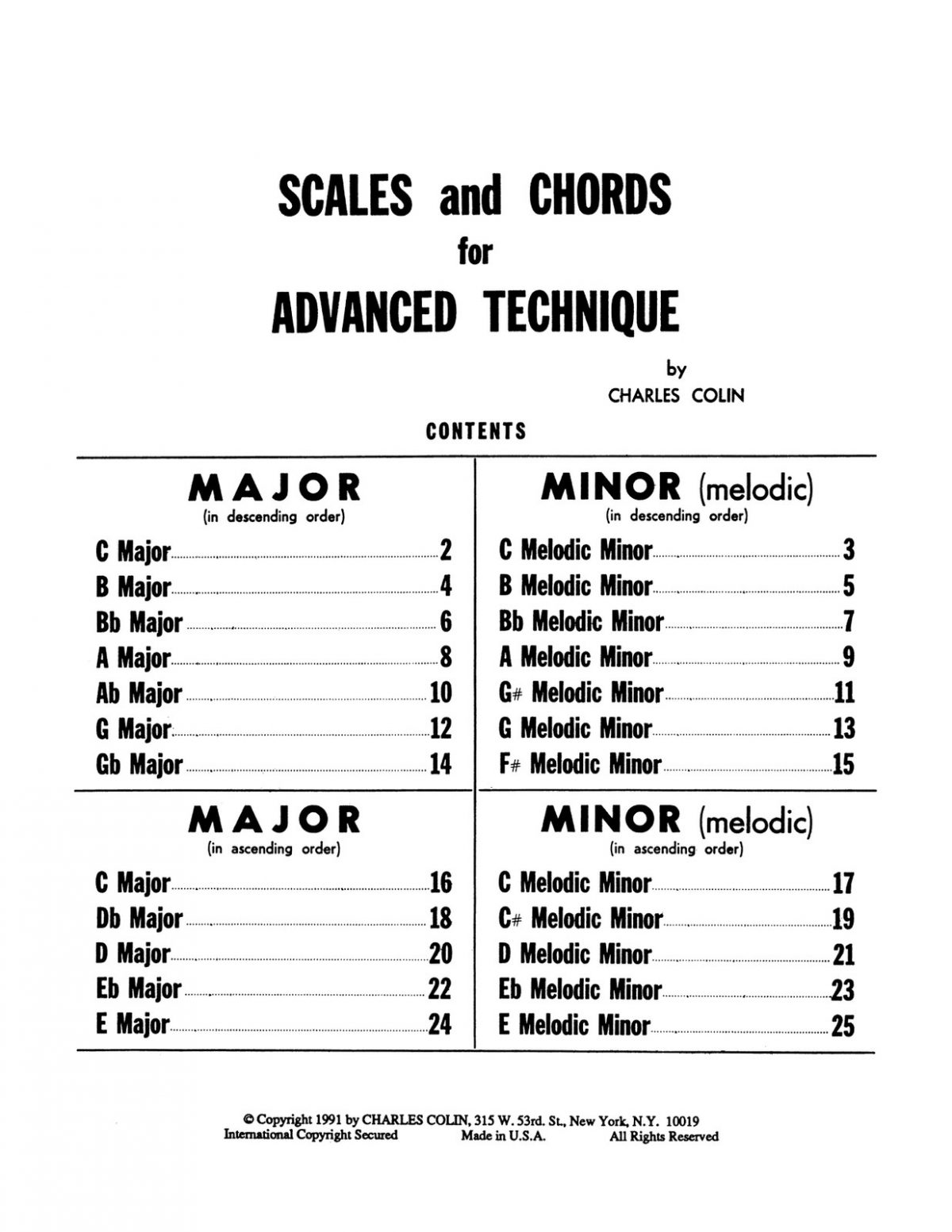 Colin, Scales and Chords for Advanced Technique-p03
