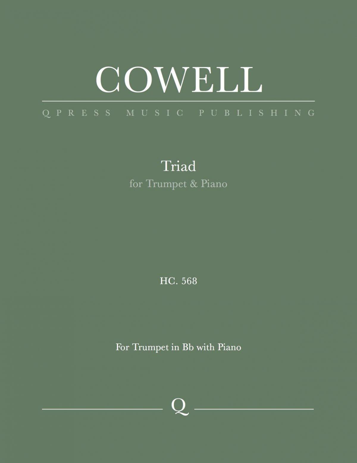 Cowell, Triad, HC 568-p01