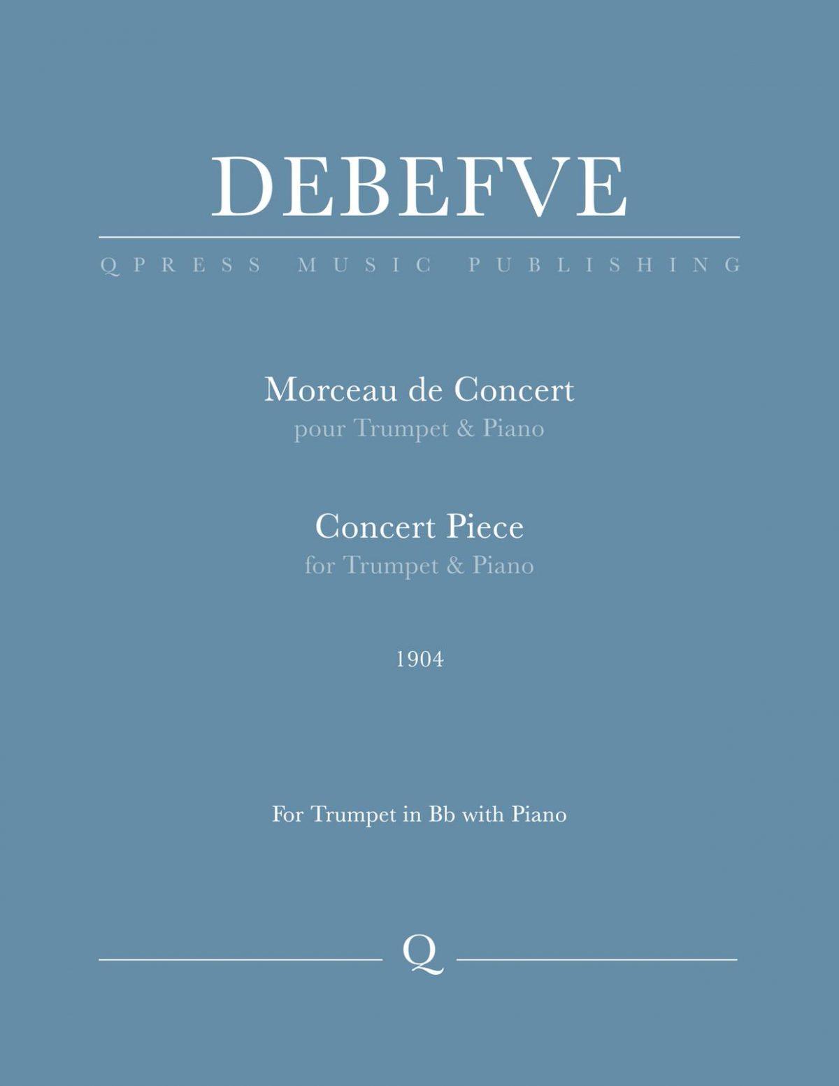 Debefve, Morceau de Concert-p01