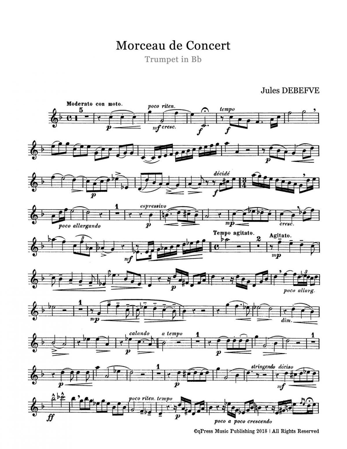 Debefve, Morceau de Concert-p02