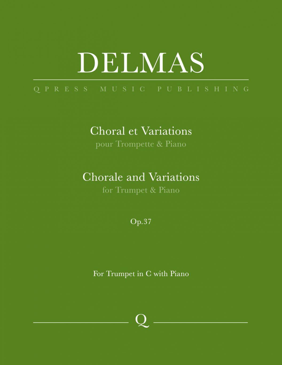 Delmas, Choral et variations-p01