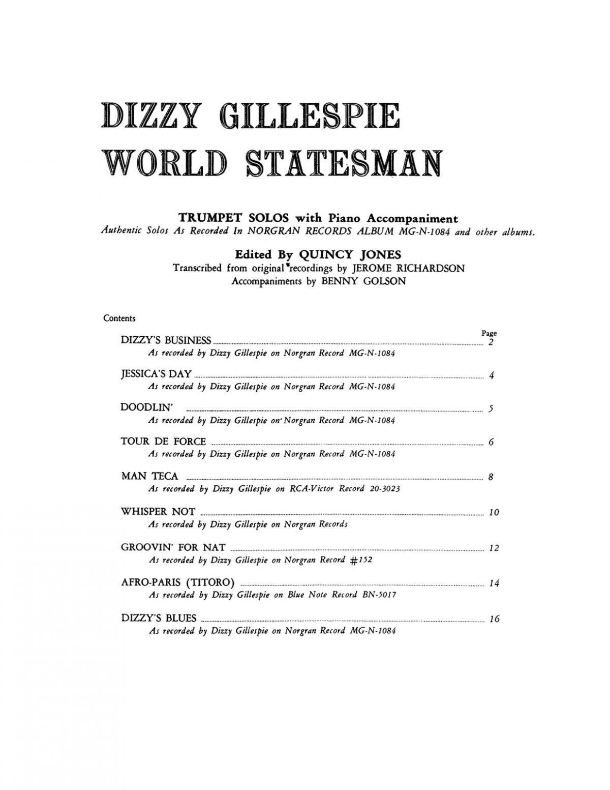 Gillespie, World Statesman (Part & Score)-p03