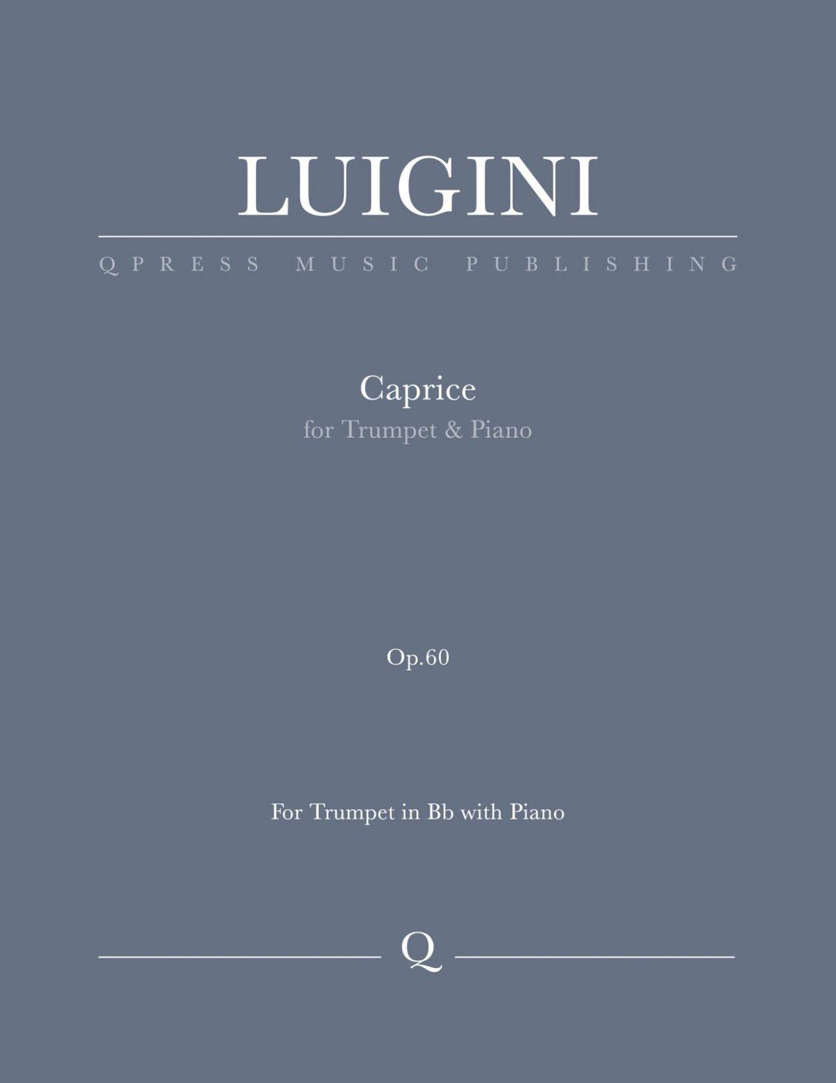 Luigini, Caprice, Op.60-p01