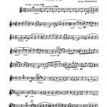 Prokofiev, Kije's Wedding for Trumpet and Piano-p02