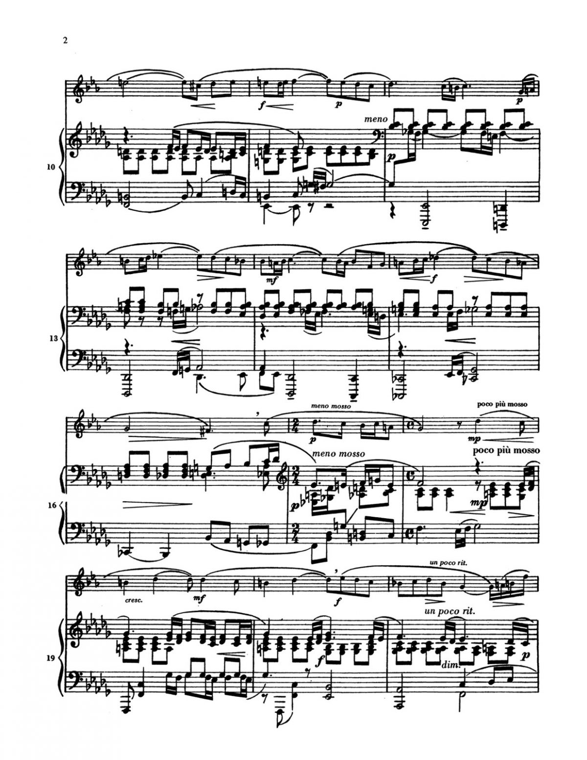 Rachmaninoff, Vocalise for Trumpet and Piano-p6