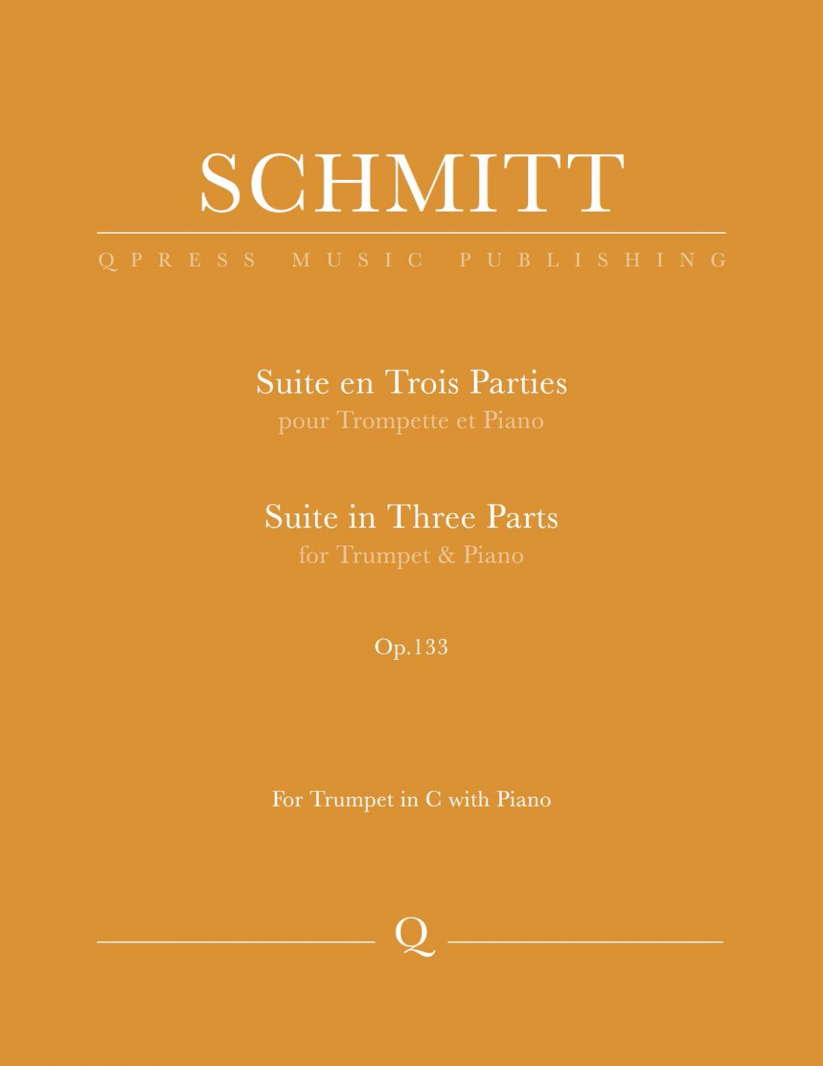 Schmitt, Florent, Suite for Trumpet and Piano-p01