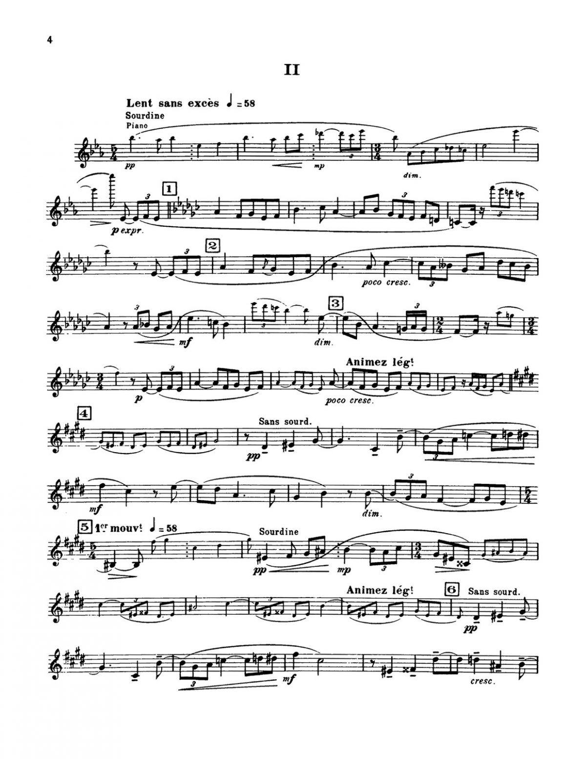Schmitt, Florent, Suite for Trumpet and Piano-p06