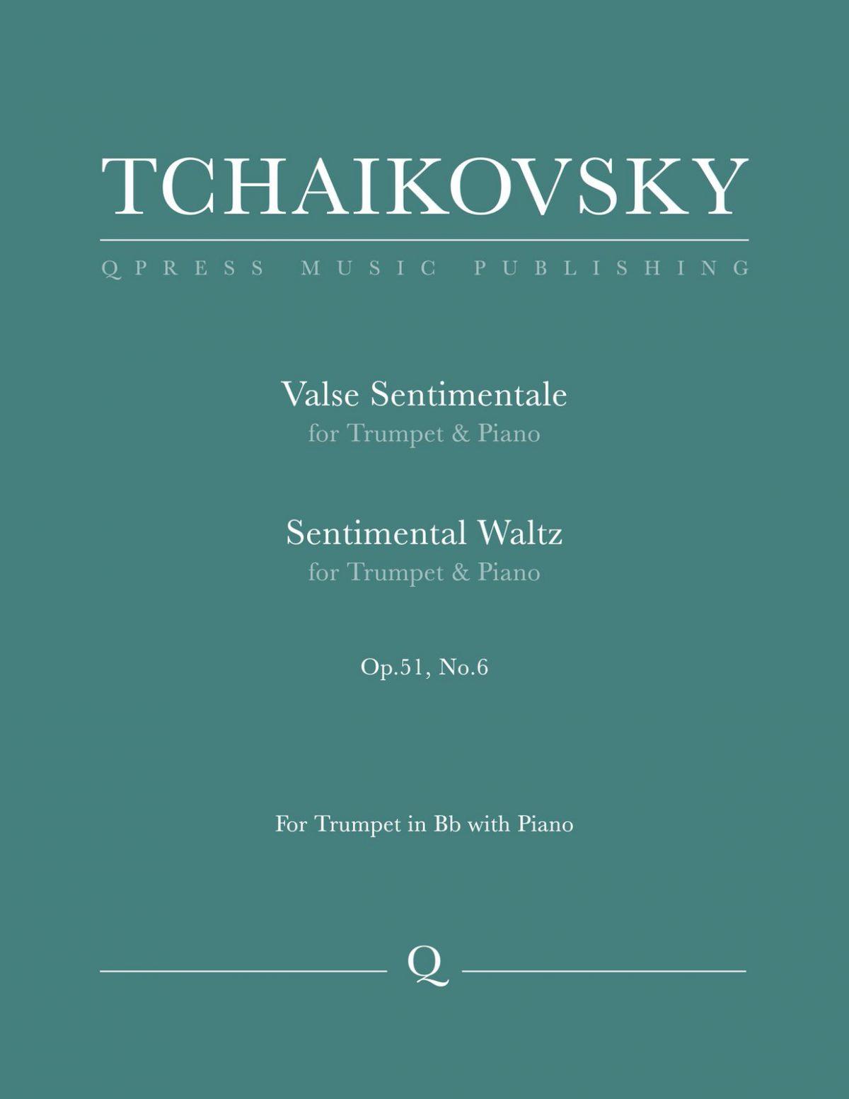 Tchaikovsky, Valse Sentimentale-p1