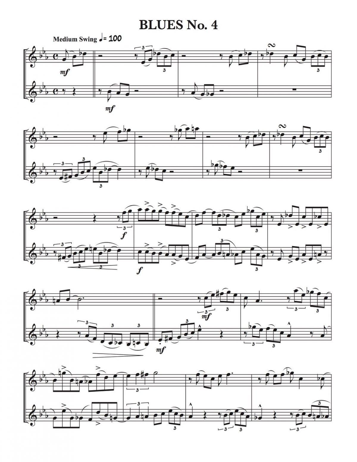 Veldkamp, 60 Progressive Swing Duets Vol.4-p08