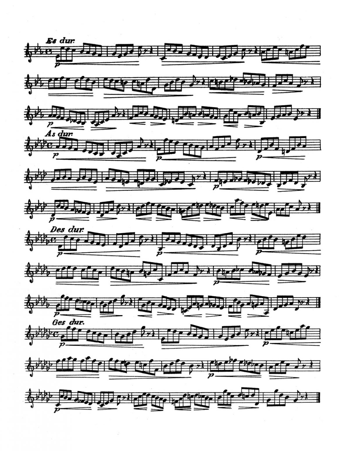 Blume, 36 Studies for French Horn-p04