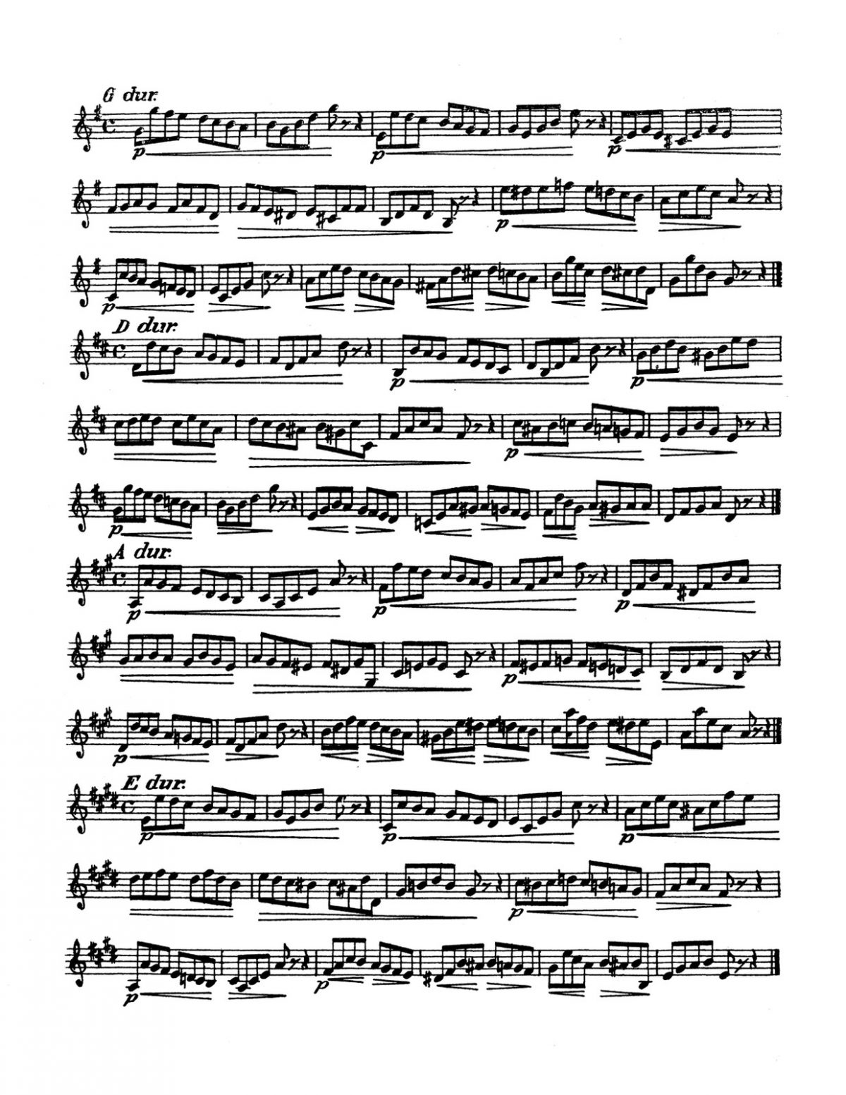 Blume, 36 Studies for French Horn-p05