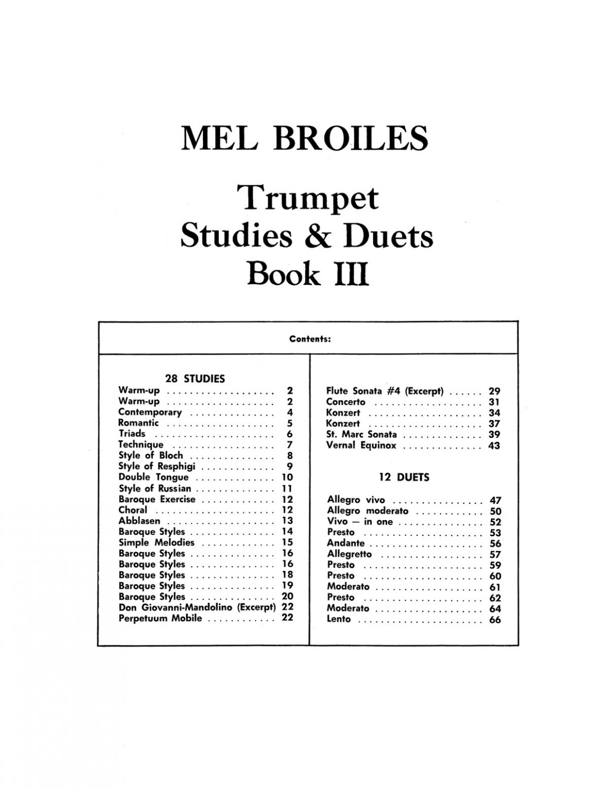 Broiles, Trumpet Studies and Duets Book 3-p03