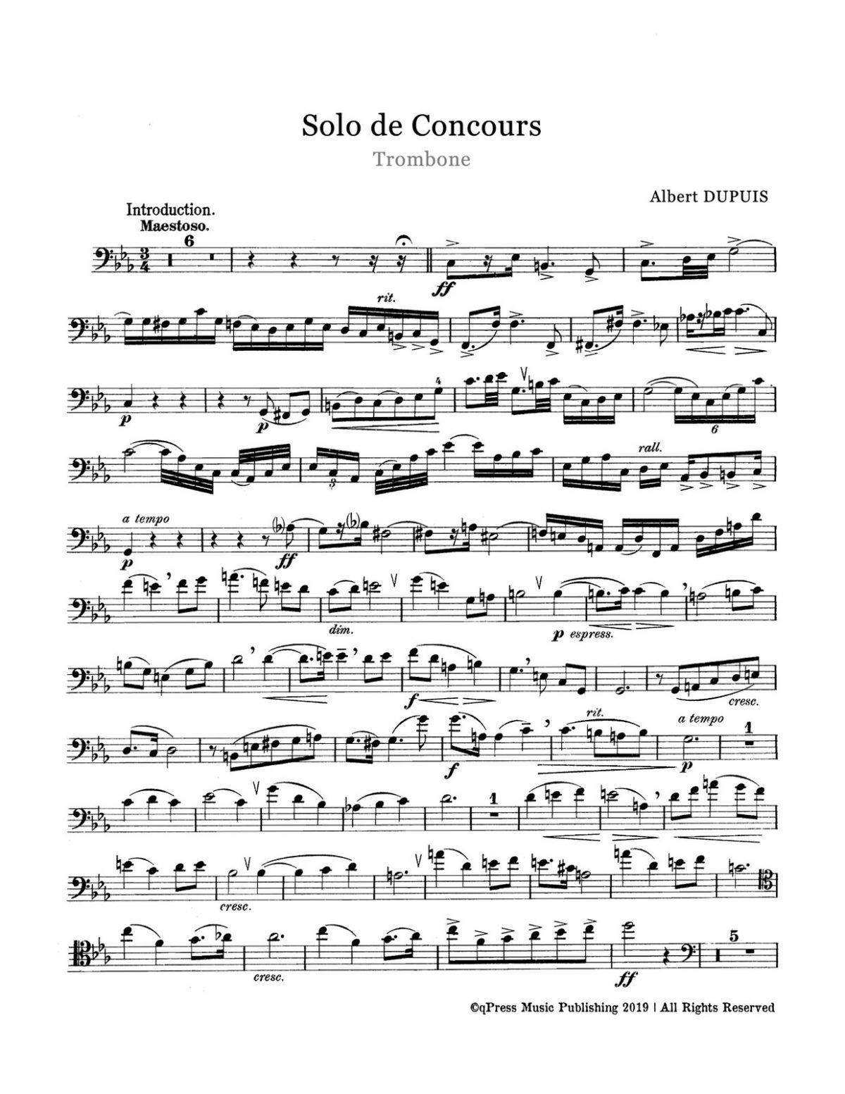 Dupuis, Albert, Solo de Concours-p03