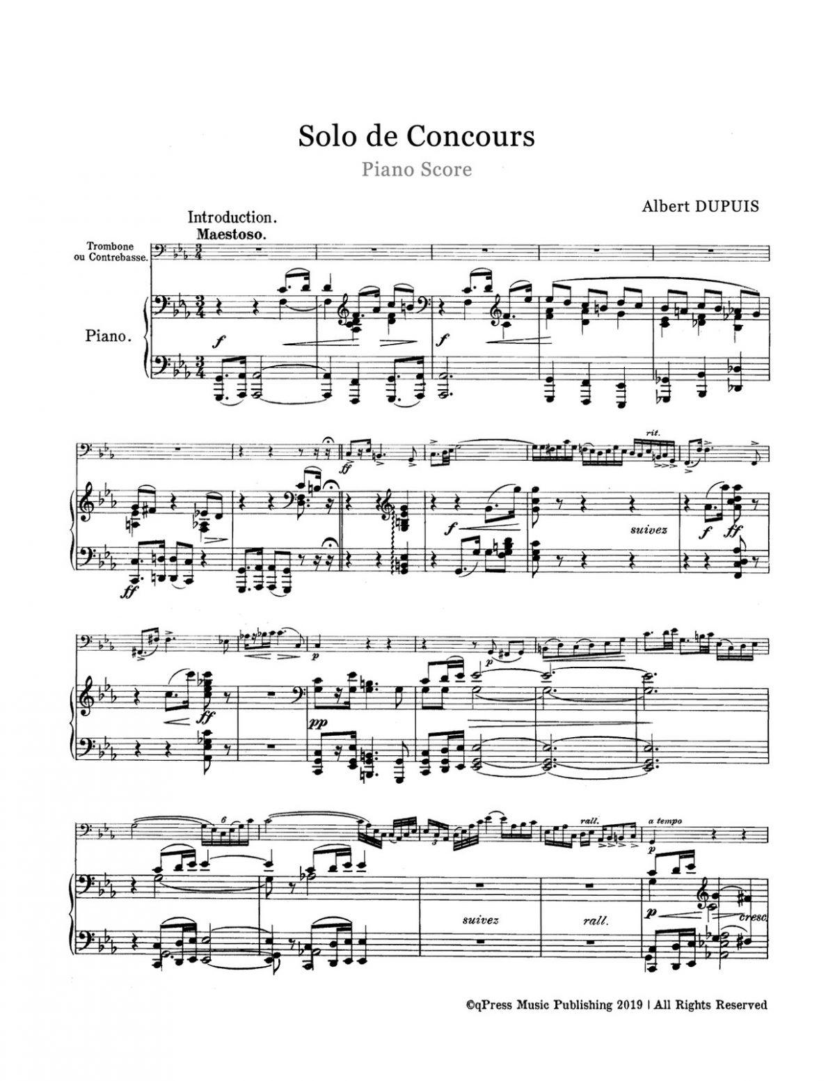 Dupuis, Albert, Solo de Concours-p08