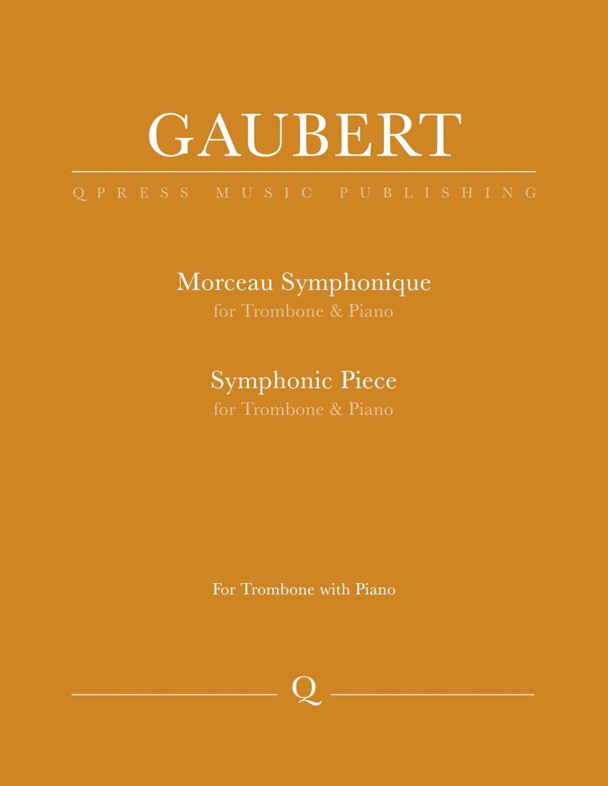 Gaubert, Morceau Symphonique-p01