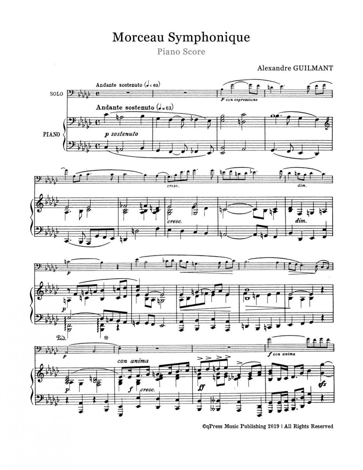 Guilmant, Alexandre Morceau Symphonique-p08