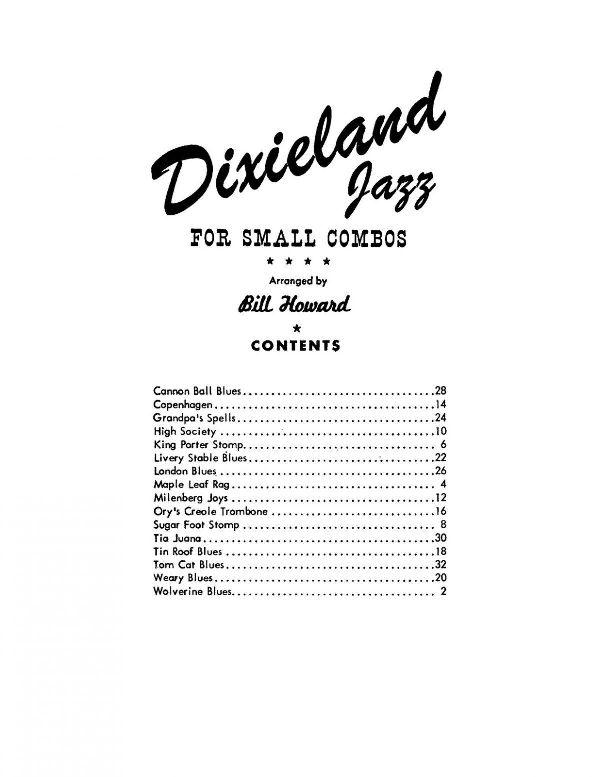 Melrose, Dixieland Jazz B-p05