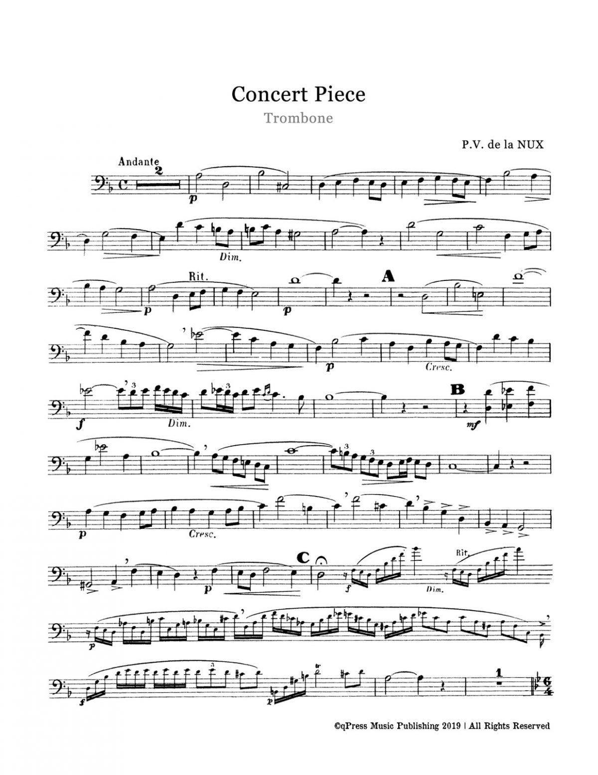 Nux, Concert Piece-p02