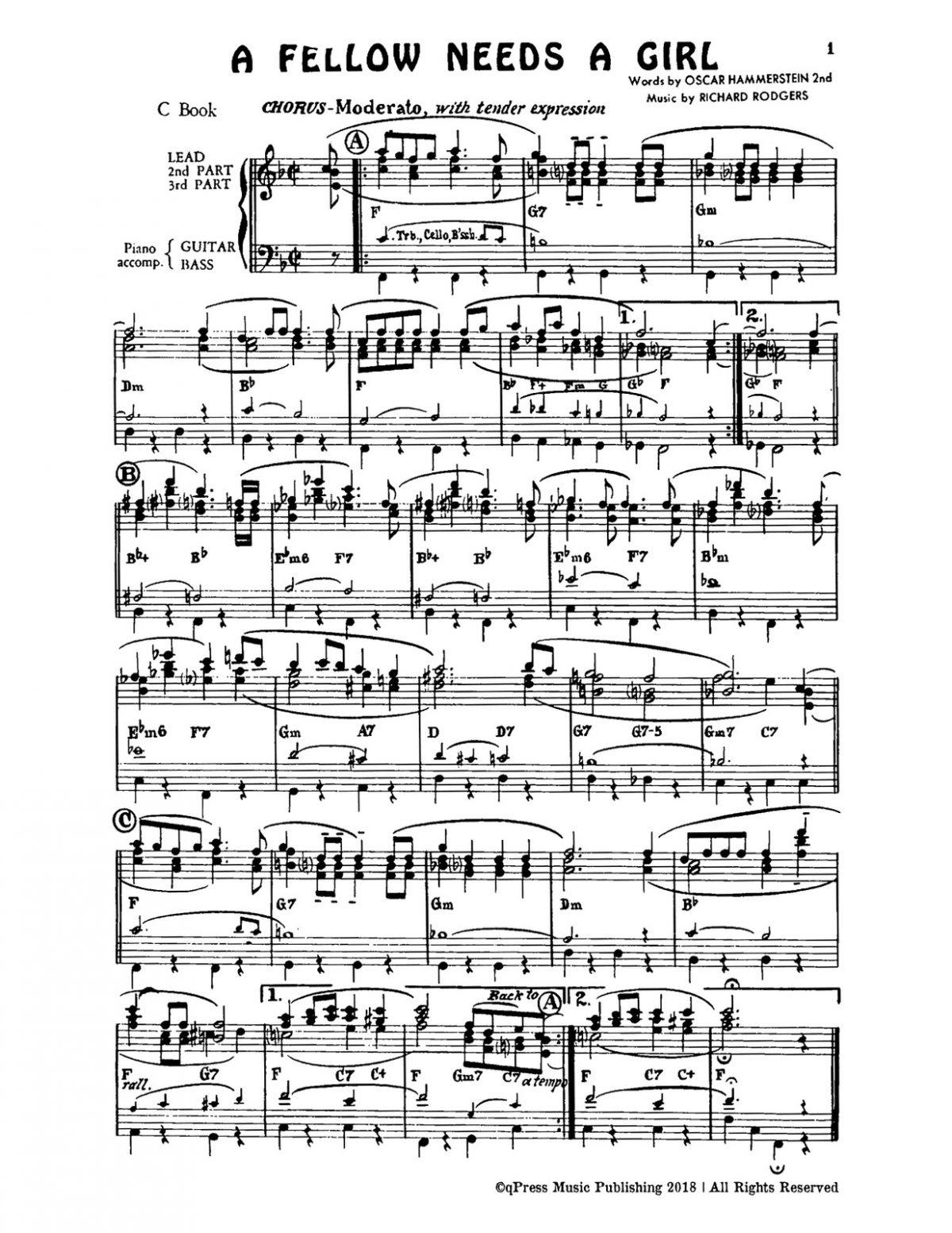 Rogers-Hammerstein, Combo Orks C-p05