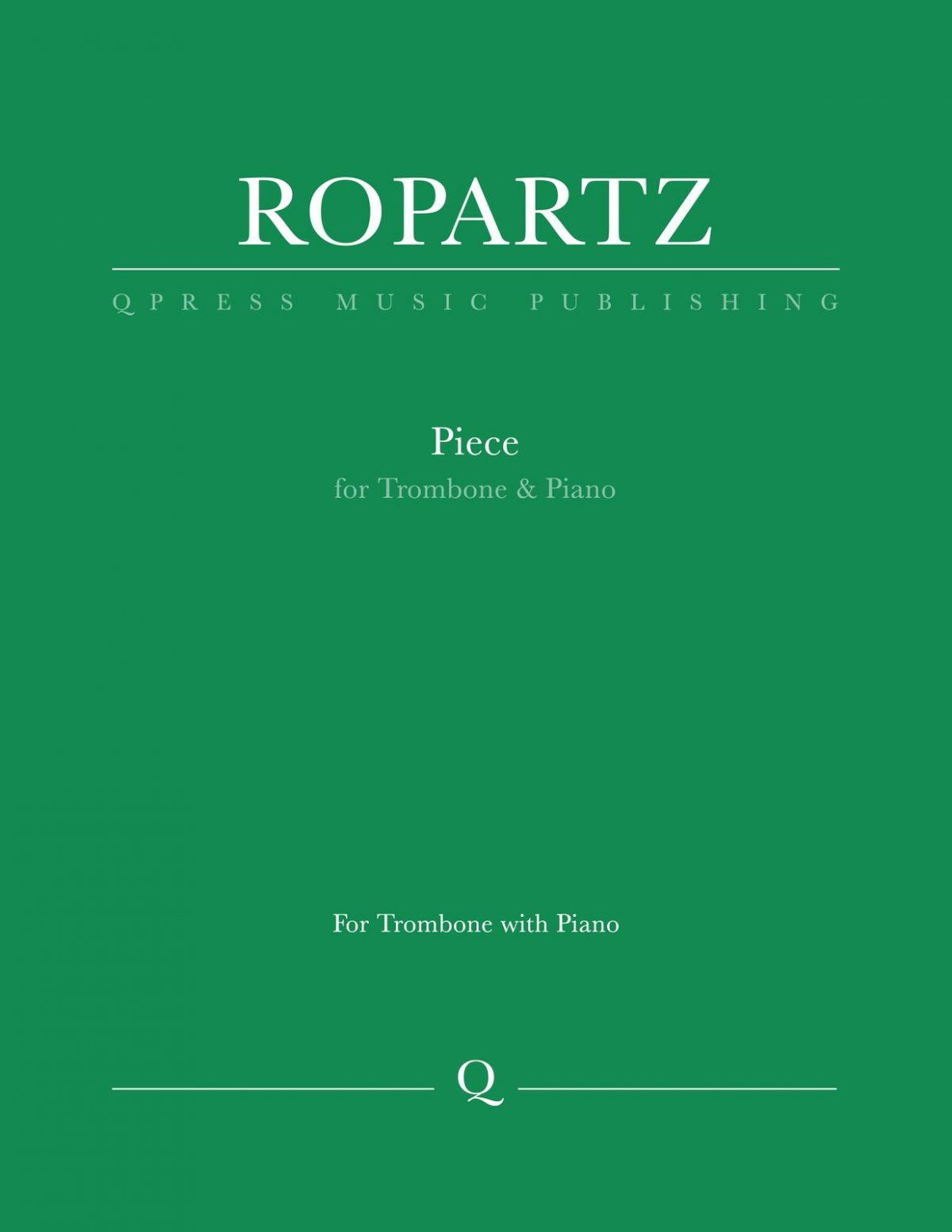 Ropartz, Piece for Trombone and Piano-p01
