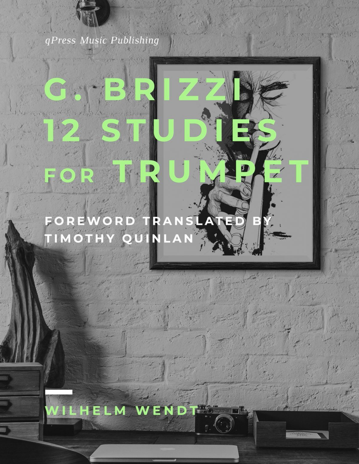 Brizzi-Wendt, 12 Studies for Bb Trumpet-p01