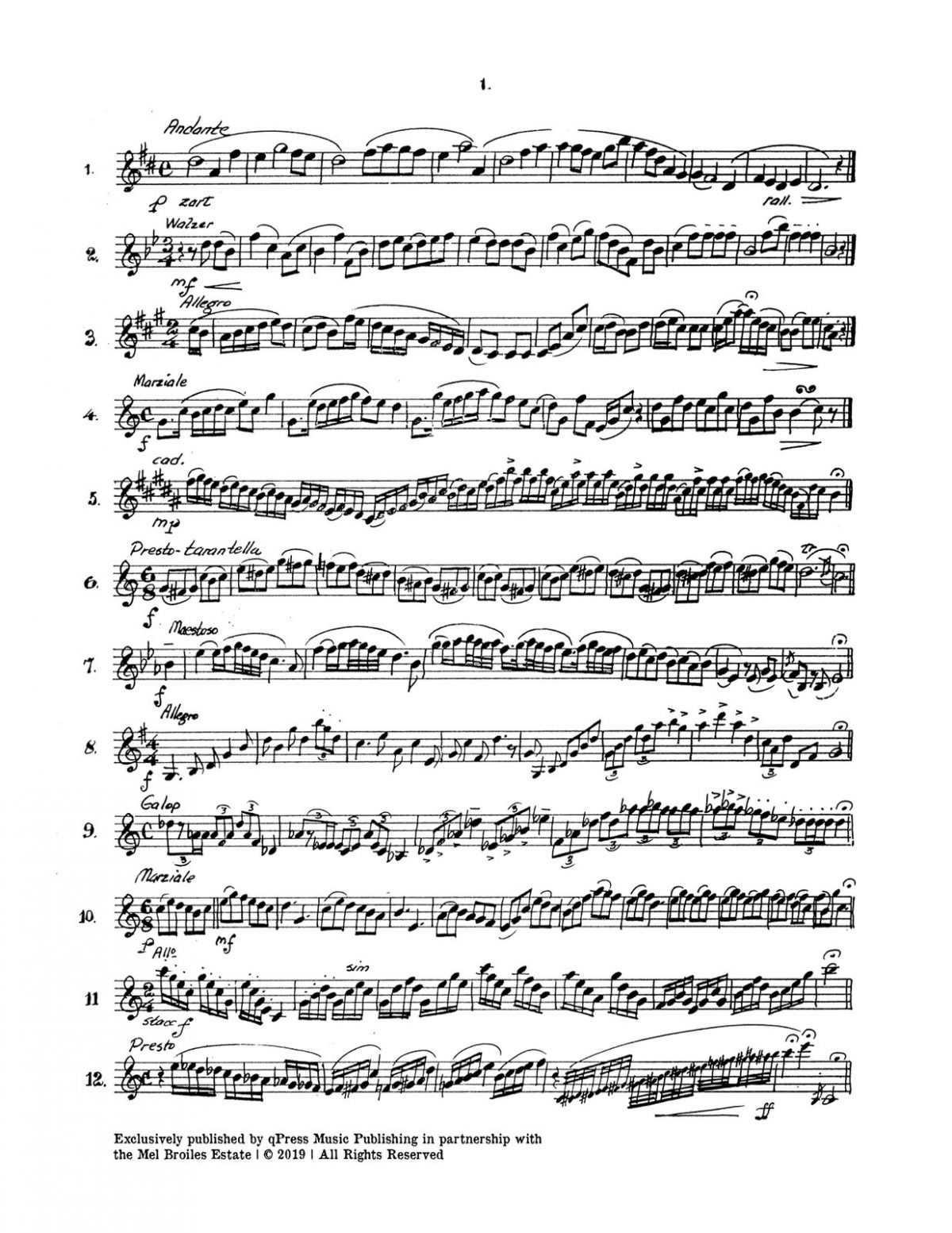 Broiles, One Liners, Mini Trumpet Studies-p03
