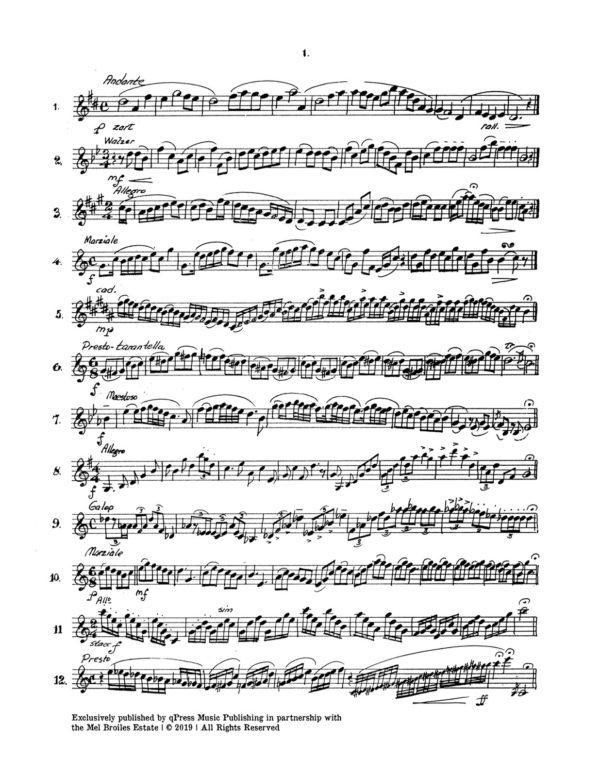 One Liners, 100 Mini Trumpet Studies