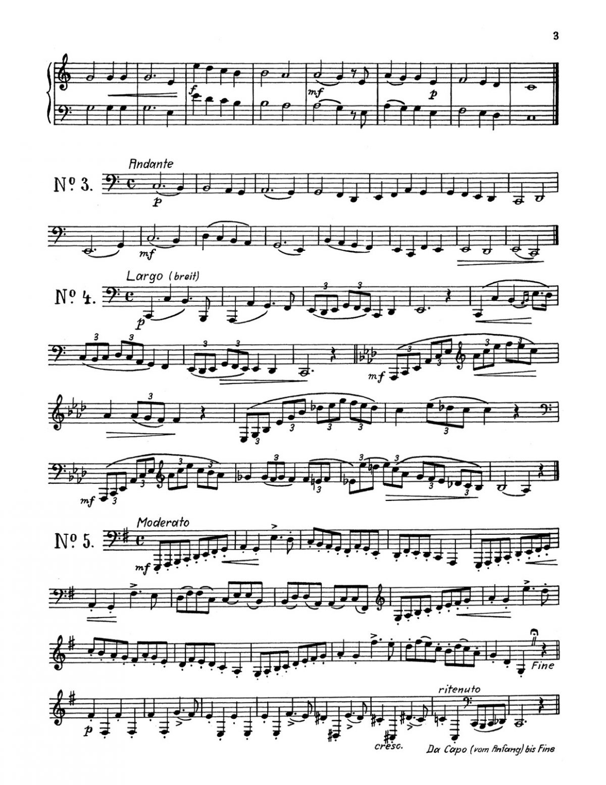 Holzner, 30 Etudes for Horn-p03
