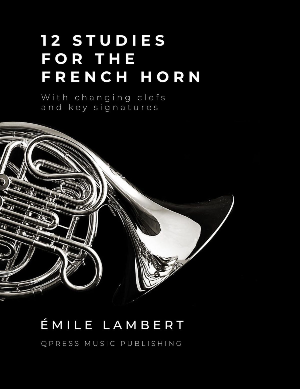Lambert, 12 Studies for French Horn-p1