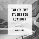 Prée, 25 Studies for Low Horn-p01