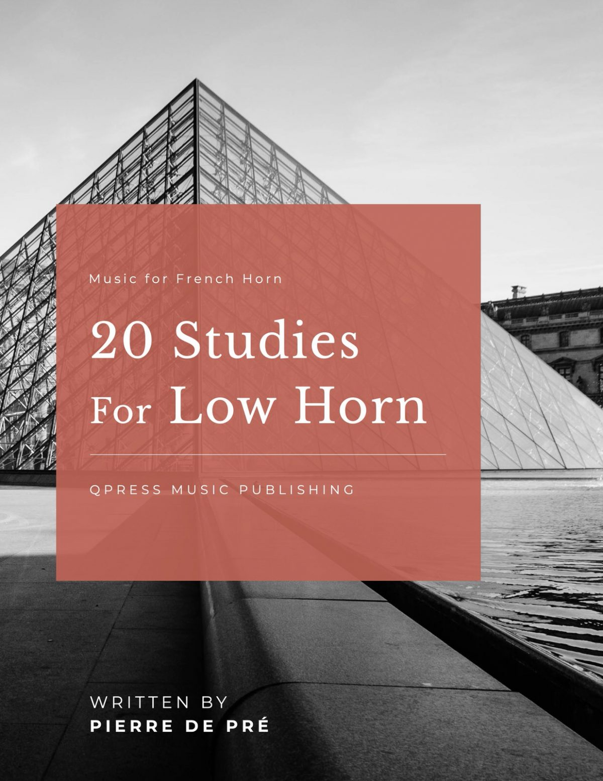 Pre, 20 Studies for Low Horn-p01