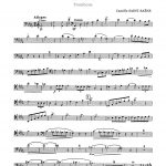 Saint-Saens, Cavatine for Trombone and Piano-p03