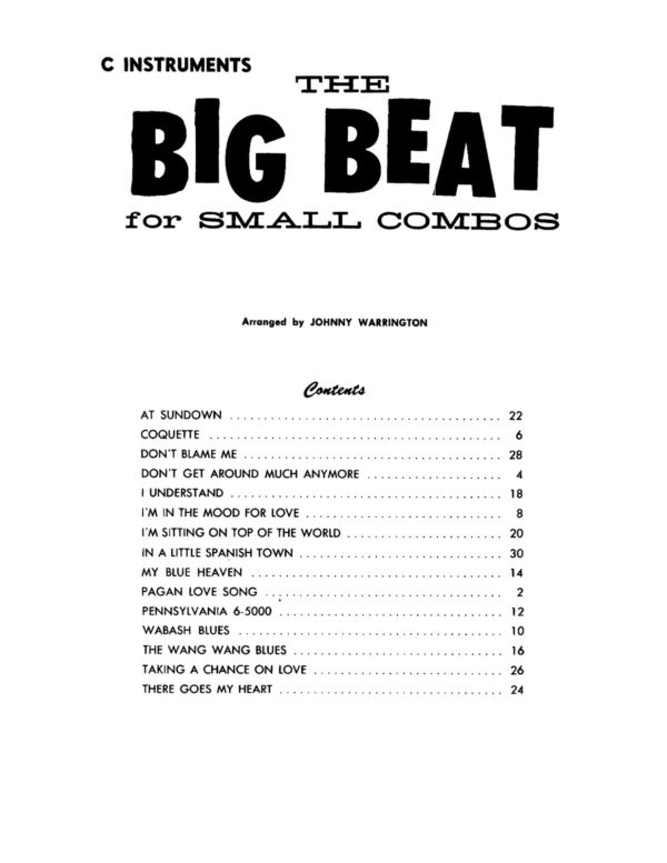 The Big Beat (Combo-Orks)