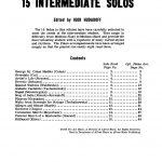 Hudadoff, Igor, 15 Intermediate Trumpet Solos-p03