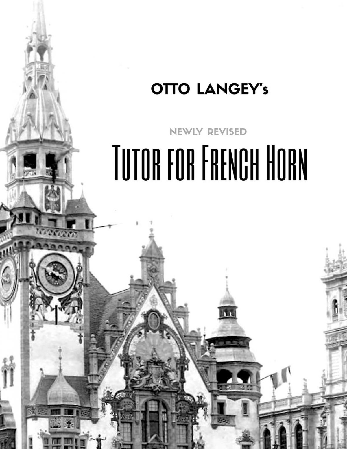 Langey, Tutor for French Horn-p001
