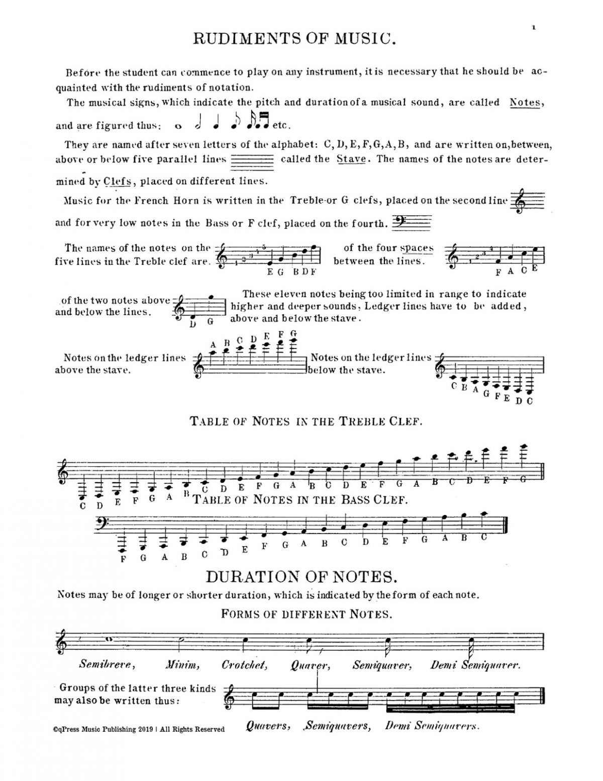 Langey, Tutor for French Horn-p005