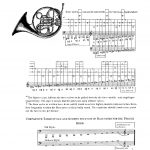 Langey, Tutor for French Horn-p012