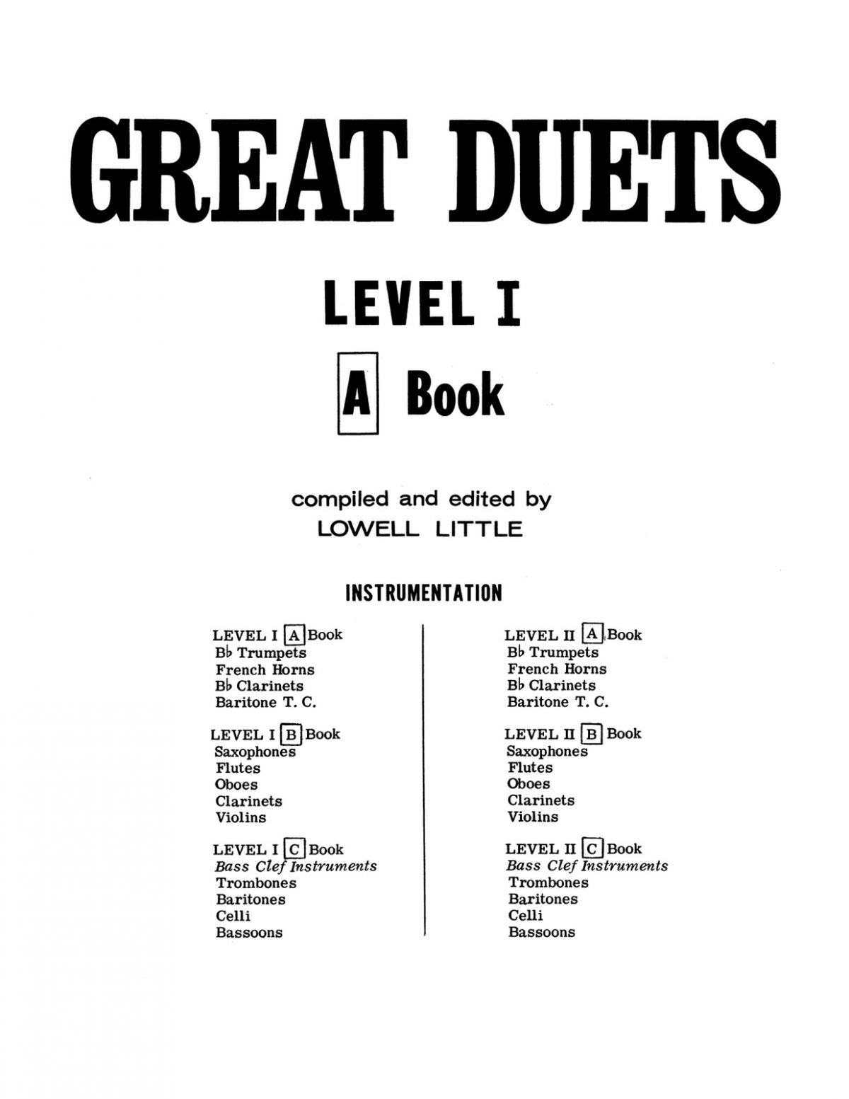 Little, Great Duets Level 1 Book A-p03