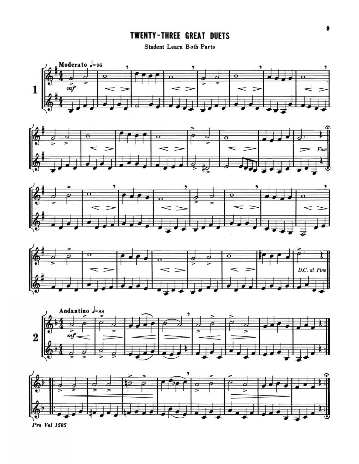 Little, Great Duets Level 1 Book A-p11