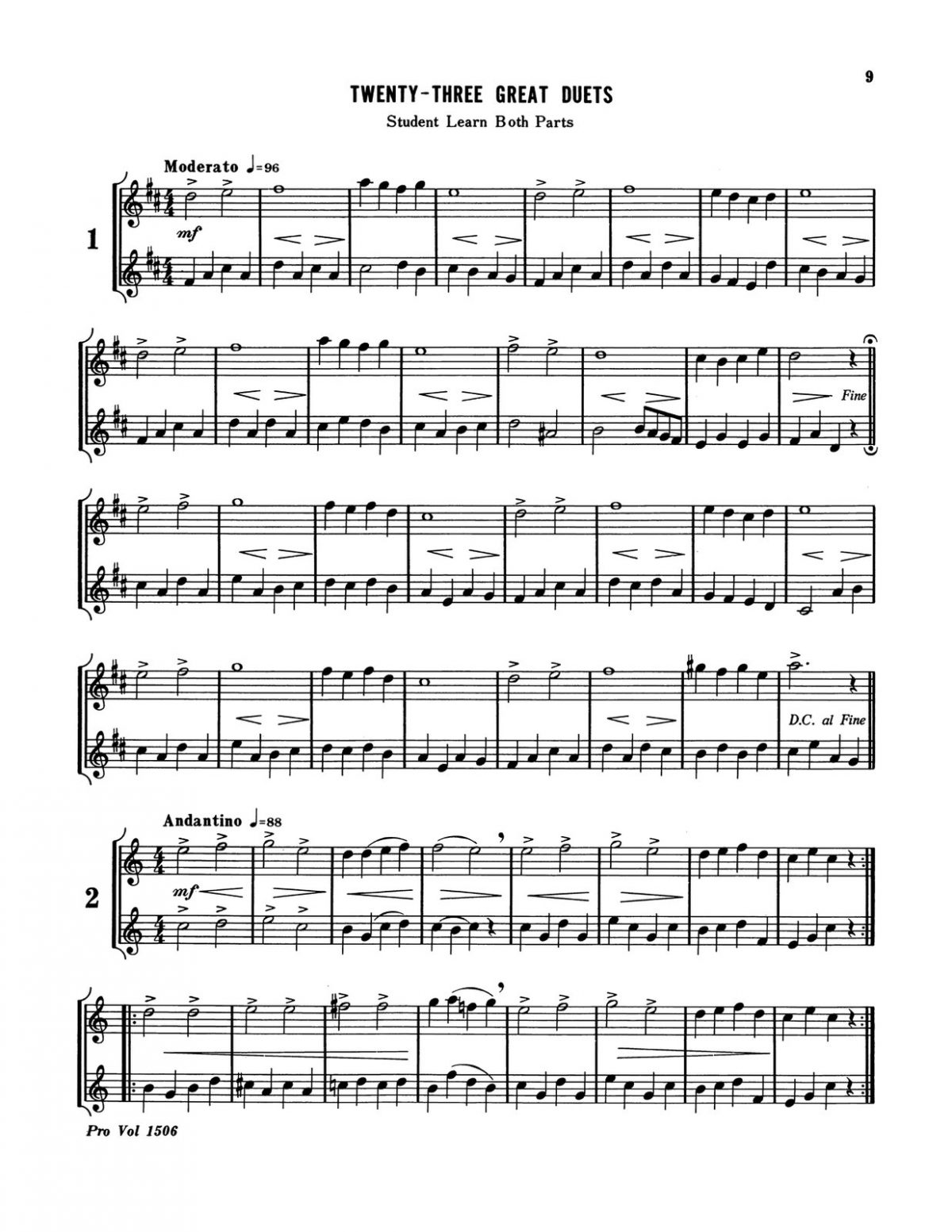 Little, Great Duets Level 1 Book B-p11