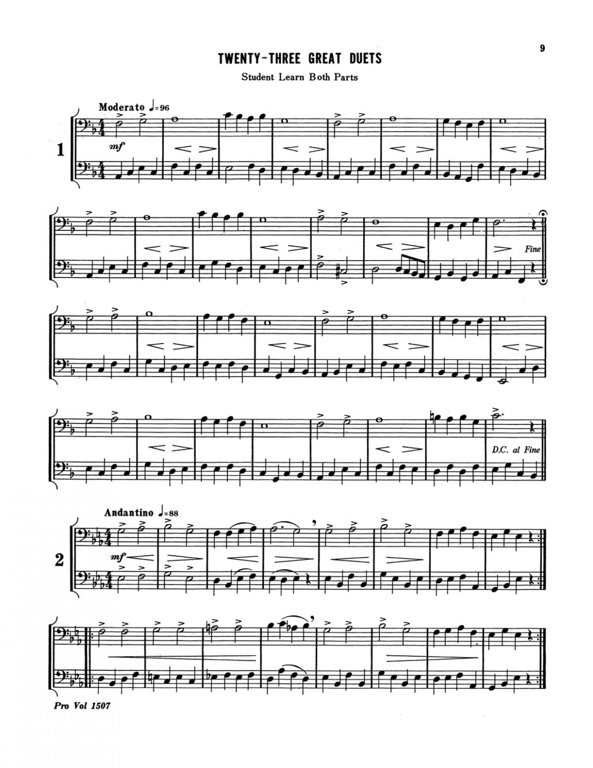Little, Great Duets Level 1 Book C-p11