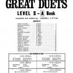 Little, Great Duets Level 2 Book A-p03