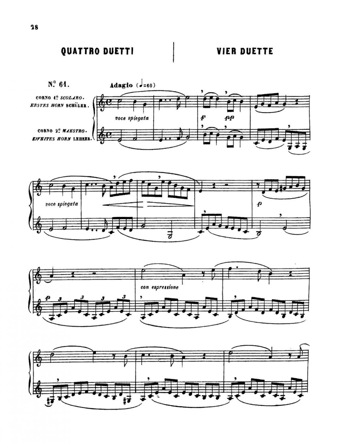 Vecchietti, Metodo Teorico Pratico per Corno-p032