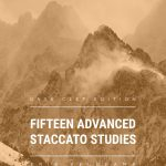Veldkamp, 15 Advanced Staccato Studies in Bass Clef-p01