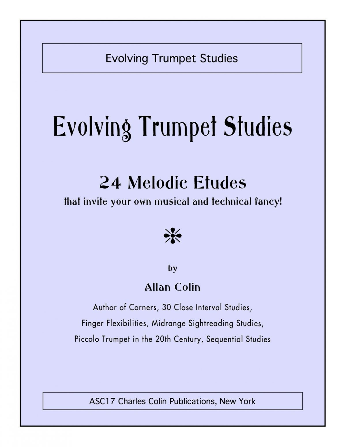 Colin, Allan, Evolving Trumpet Studies-p01