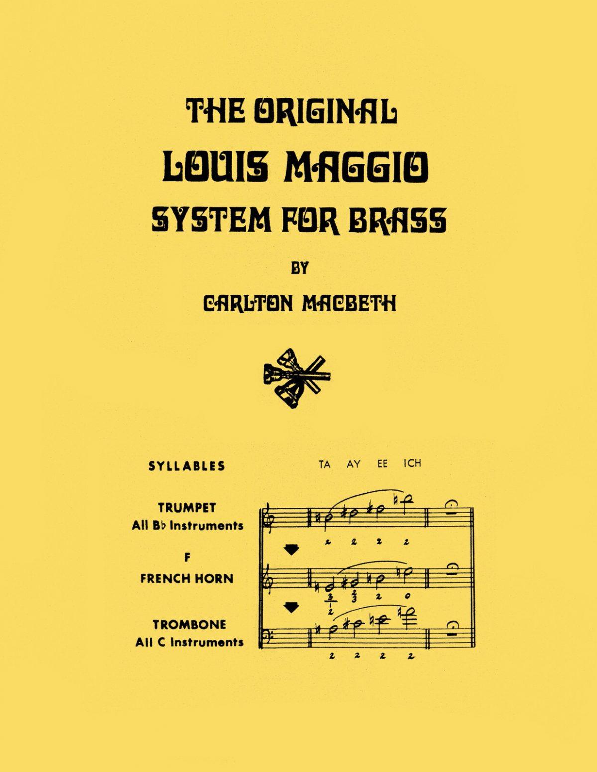 Macbeth, The Original Louis Maggio System for Brass-p001