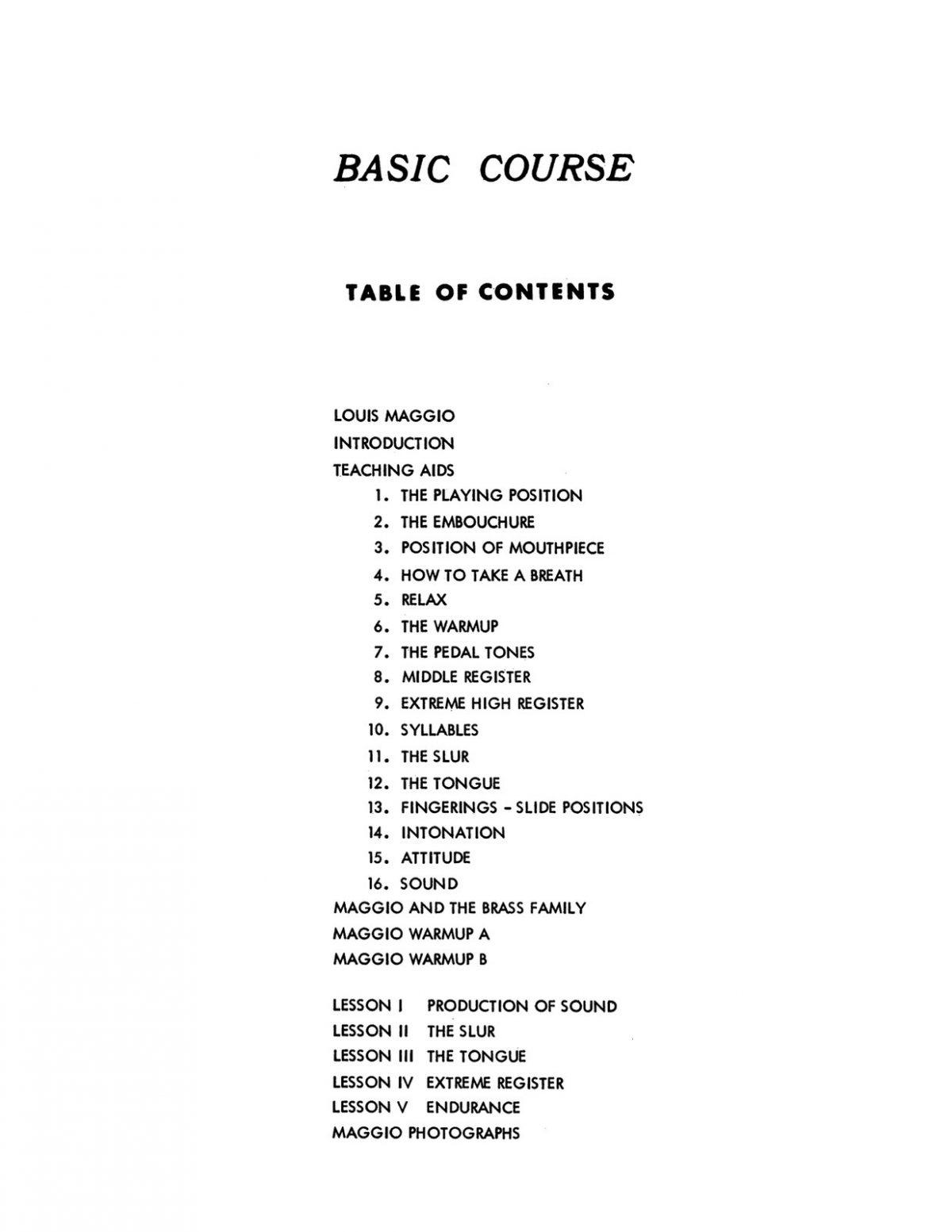 Macbeth, The Original Louis Maggio System for Brass-p005
