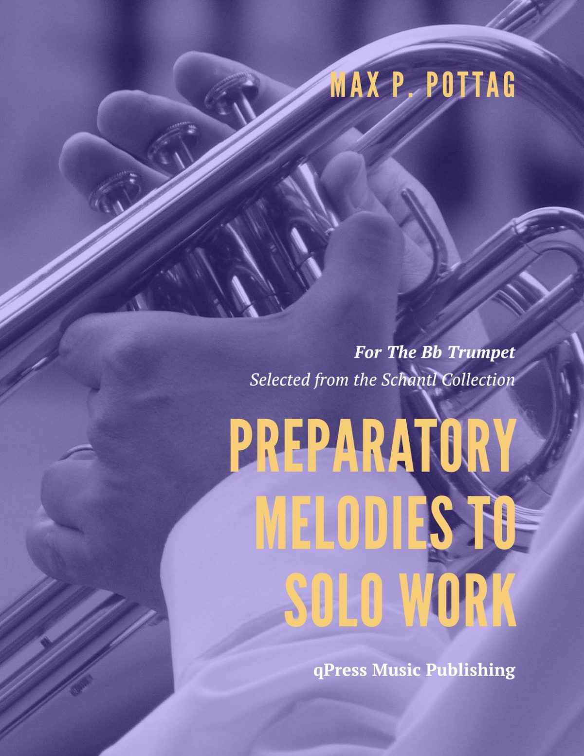 Pottag, Preparatory Melodies to Solo Work for Bb Cornet-p01