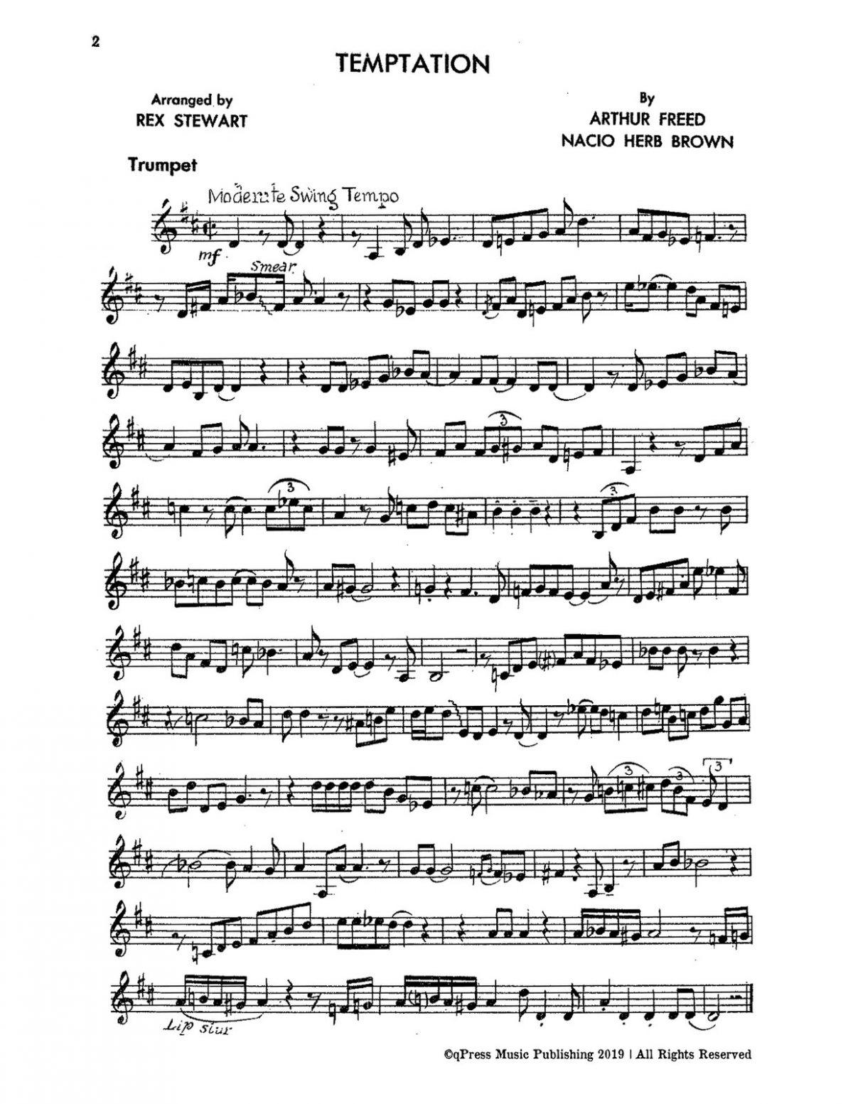 Stewart Rex, All American Modern Rhythm Choruses for Trumpet-p06